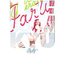 Girls' Generation (SNSD) Sunny 'Party' Photographic Print