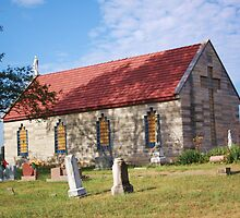 RURAL CHURCH by Pauline Evans