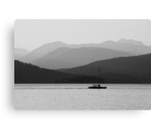 Sail – Tower beach, spring '08  Canvas Print