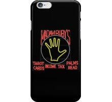 Madam Ruby's Psychical Bicycle Recovery iPhone Case/Skin