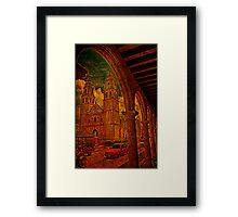 The Cathedral. Campeche. Mexico Framed Print