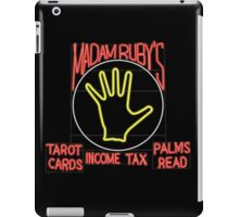 Madam Ruby's Psychical Bicycle Recovery iPad Case/Skin
