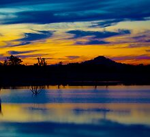 Colourful Lake Hume 3 by John Vandeven