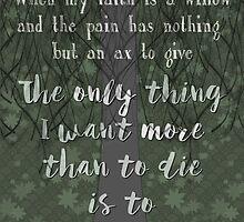 My Faith is a Willow by PrettySickArt