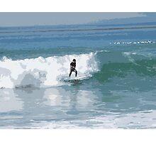 Cutout Surfer #3 Photographic Print