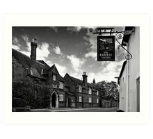 The Railway Tavern, Holt Art Print