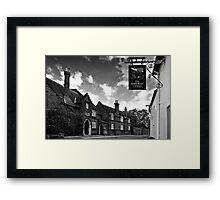 The Railway Tavern, Holt Framed Print