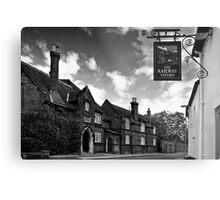 The Railway Tavern, Holt Metal Print