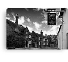 The Railway Tavern, Holt Canvas Print