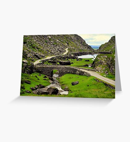 Centre of the Gap Greeting Card