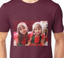 Little Girls Waiting For Santa Unisex T-Shirt