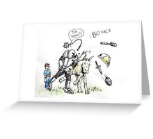 Going Medieval Greeting Card