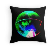 Glowing Orb. Throw Pillow