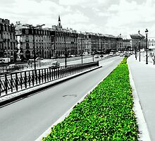 The green lung of the city by bubblehex08