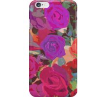 Pattern of Roses  iPhone Case/Skin