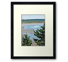 Mavillette Beach II Framed Print