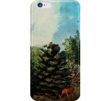 Pine Cone Forest iPhone Case/Skin