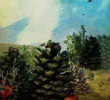 Pine Cone Forest by Terry Fleckney