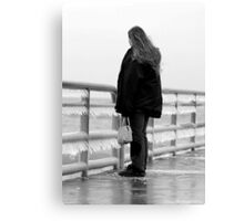 looking for the lost love Canvas Print