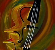 Simplistic Symphony 1 by Heather Wilkerson