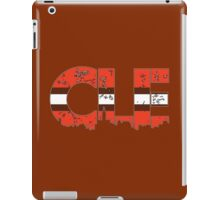 "Cleveland, Ohio ""CLE"" Browns Shirts, Stickers, Mugs, More iPad Case/Skin"