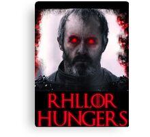 Rhllor Hungers Canvas Print