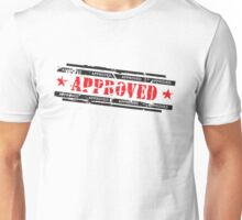 Approved stamp Unisex T-Shirt