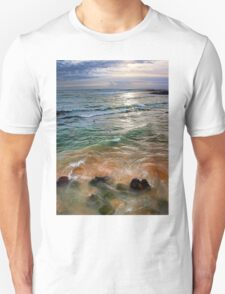 sand and sea love Unisex T-Shirt