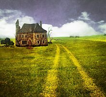 Old Stone House by Terry Fleckney