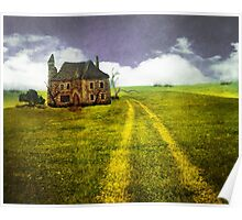 Old Stone House Poster