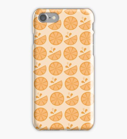 Cheerful Citrus in Juicy Orange iPhone Case/Skin