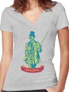Vintage pimp Women's Fitted V-Neck T-Shirt