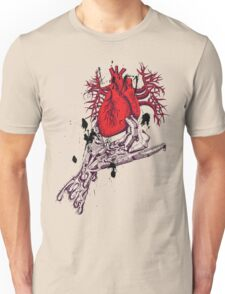 Heart in your hands Unisex T-Shirt