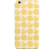 Cheerful Citrus in Sour Lemon Yellow iPhone Case/Skin