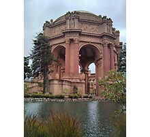 The Palace of Fine Arts in San Francisco Photographic Print