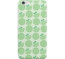 Cheerful Citrus in Zesty Lime iPhone Case/Skin
