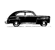 Ford V8 Super Deluxe Tudor Sedan 1946 by garts
