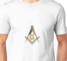 Masonic Square and Compass Unisex T-Shirt