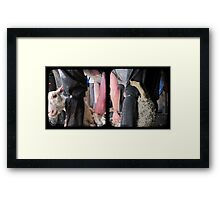 Click Go The Shears - TTV Diptych Framed Print