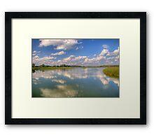 Yahara River Reflections Framed Print
