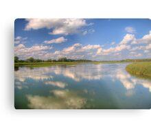 Yahara River Reflections Metal Print