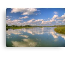 Yahara River Reflections Canvas Print