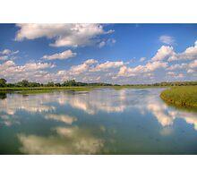 Yahara River Reflections Photographic Print