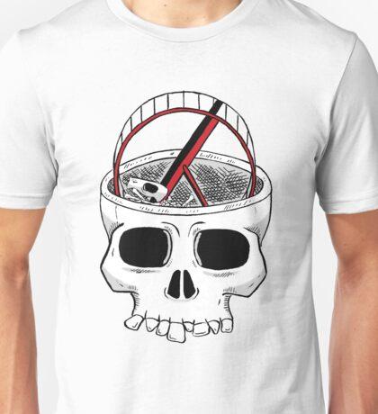 Idiot skull Unisex T-Shirt