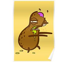 Zombie Peanut Poster