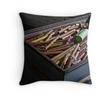 Thread Spindles Throw Pillow