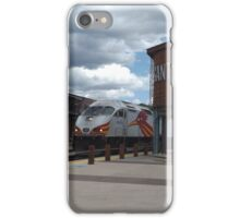 New Mexico Railrunner Departs Santa Fe Railyard, Santa Fe, New Mexico iPhone Case/Skin