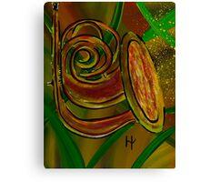 Simplistic Symphony 3 Canvas Print