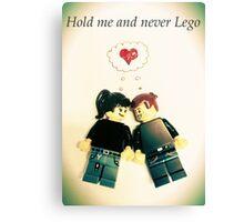 Never Lego Canvas Print