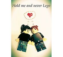 Never Lego Photographic Print
